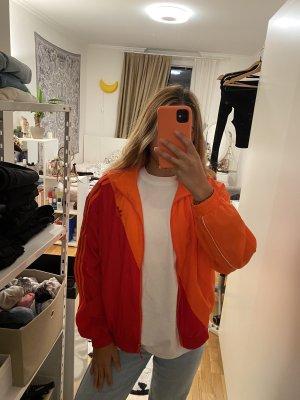 Adidas Giacca bomber rosso-arancione