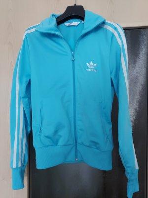 Adidas Veste de sport bleu clair