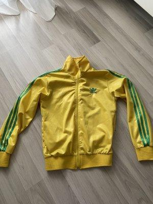 Adidas Sportjack geel-groen