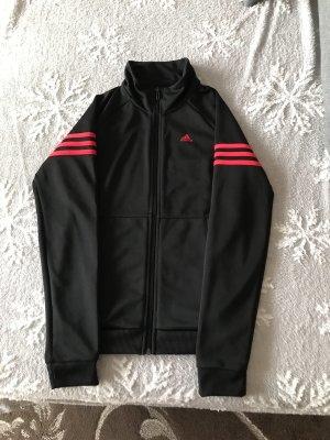 Adidas Kurtka dresowa czarny-czerwony