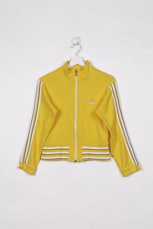 Adidas Trainingsjacke in Gelb S