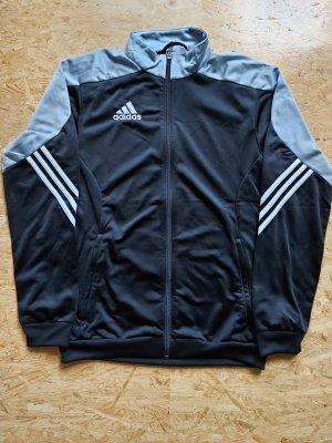 Adidas Trainingsjacke schwarz-grau / neuwertig