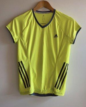 Adidas Maglietta sport giallo neon
