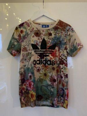 Adidas Tshirt Blumen