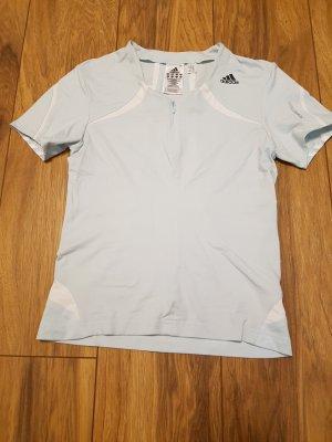 Adidas T-shirt de sport bleu azur
