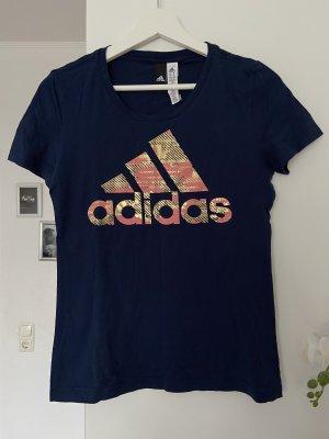 Adidas Tshirt dunkelblau WIE NEU