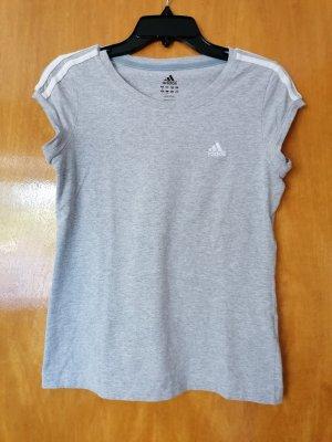 Adidas Sports Shirt silver-colored