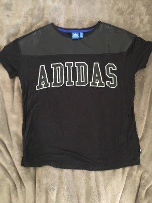 Adidas Tshirt mit Kontrasteinsatz