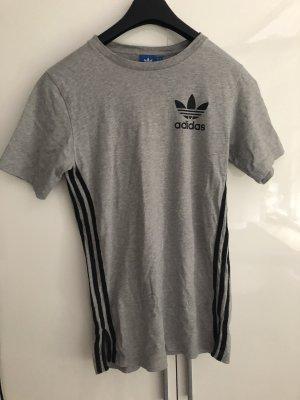 Adidas Sportshirt zwart-zilver
