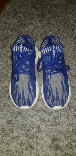 Adidas Originals Zapatillas deslizantes blanco-azul