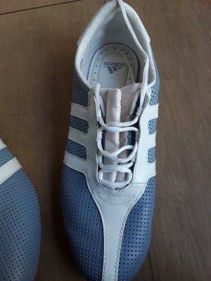 Adidas Originals Basket à lacet bleu azur matériel synthétique