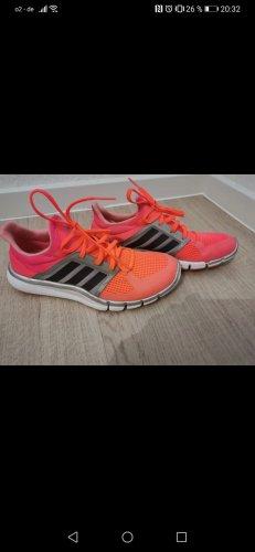 Adidas Originals High top sneaker roze