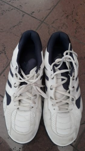 Adidas Originals Sneakers met veters wit-blauw