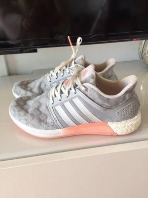 Adidas Turnschuhe Schuhe Sneaker Gr 39 weiß grau neon