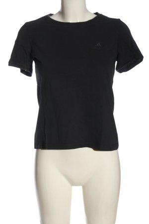 Adidas T-Shirt schwarz Elegant