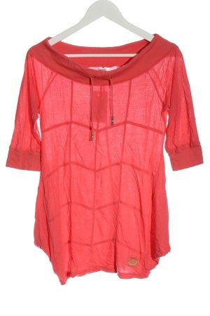 Adidas U-Boot-Shirt pink Casual-Look