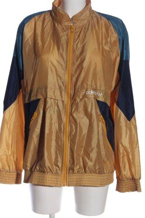 Adidas Übergangsjacke braun-blau Casual-Look