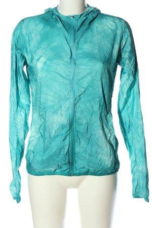 Adidas Between-Seasons Jacket turquoise casual look