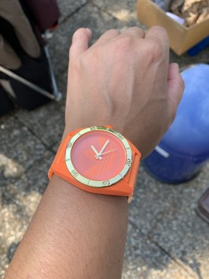 Adidas Fermoir de montre orange