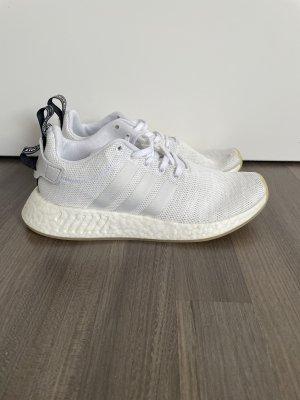 Adidas Basket slip-on blanc