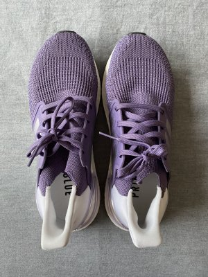 Adidas Sneaker alta blu-viola