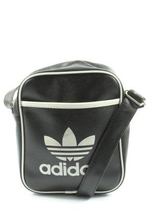 Adidas Umhängetasche schwarz-weiß Casual-Look