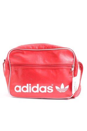 Adidas Umhängetasche rot-weiß sportlicher Stil