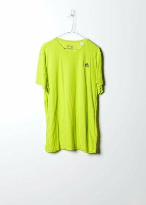 Adidas Unisex Brandshirt in Gelb