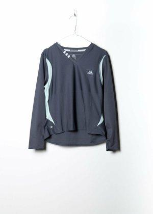 Adidas Unisex Sportshirt in Grau