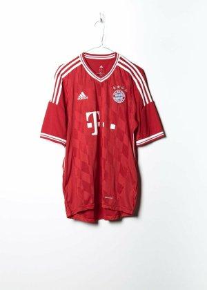 Adidas Unisex Sportshirt in Rot