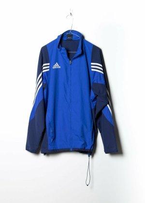 Adidas Unisex Trainingsjack in Blau