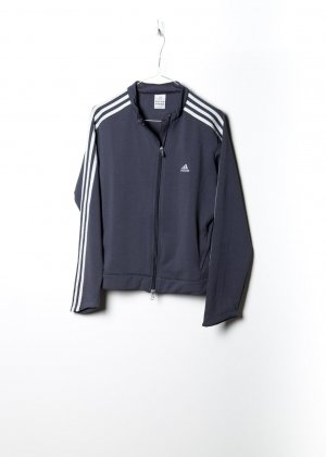 Adidas Unisex Trainingsjack in Grau
