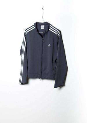 Adidas Unisex Trainingsjack in Grau