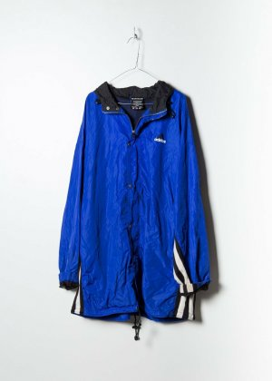 Adidas Unisex Windbreaker in Blau