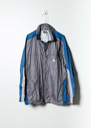 Adidas Unisex Windbreaker in Grau