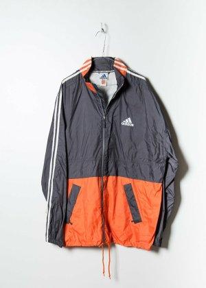 Adidas Unisex Windbreaker in Orange