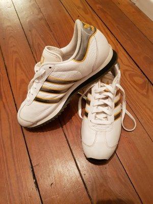 Adidas Vintage Schuhe weiß, echtleder Gr. US 9, UK 8,5 EU 42 2/3