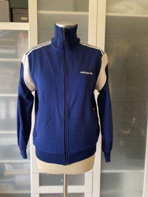 Adidas Originals Giacca fitness bianco-blu