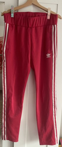 Adidas Originals Sweat Pants brick red cotton