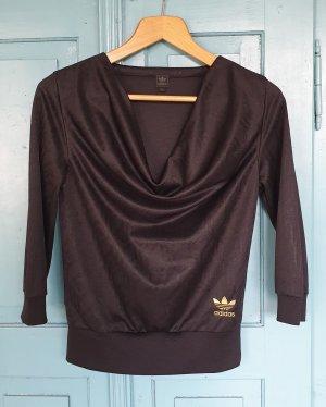 Adidas Sweatshirt noir-bronze