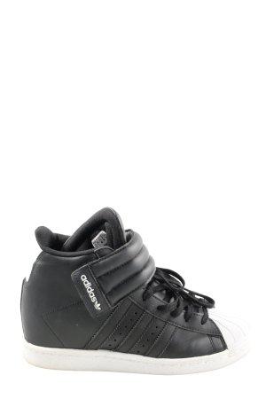 Adidas Sneaker con zeppa nero stile casual