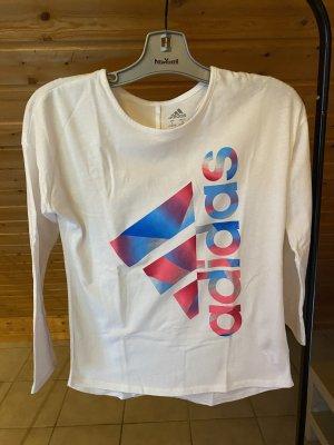 Adidas weißer sportpullover