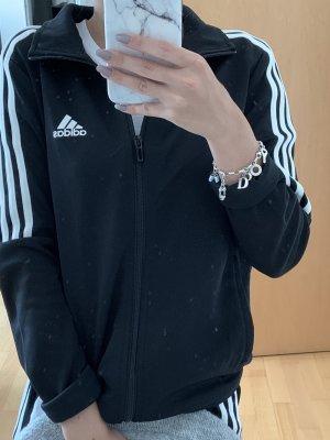 Adidas Chaleco deportivo negro-blanco