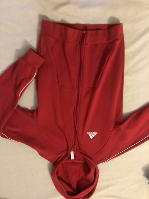 Adidas Hooded Vest red-white