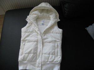 Adidas Originals Smanicato con cappuccio bianco Poliammide