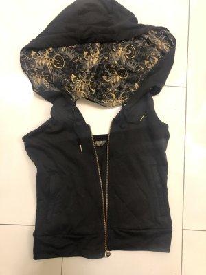 Adidas Gilet à capuche noir-doré