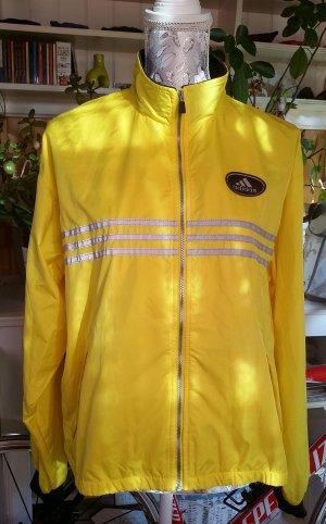Adidas Giacca sport nero-giallo