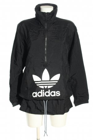 Adidas Coupe-vent noir-blanc