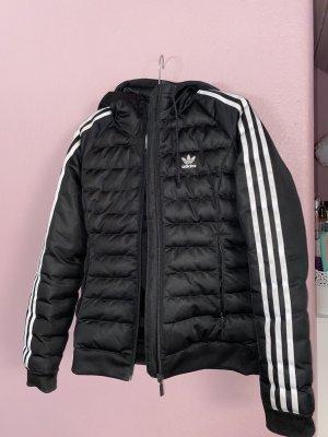 Adidas Kurtka zimowa czarny-biały