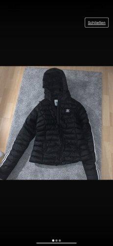 Adidas Veste d'hiver noir-blanc